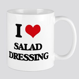 I Love Salad Dressing Mugs